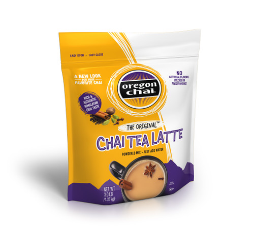 Oregon Chai Tea Mix: The Original - 3 lb Bulk Bag