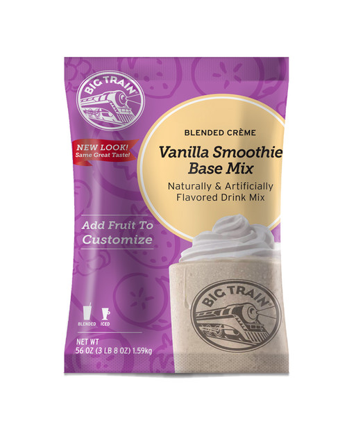 Big Train Vanilla Smoothie Mix - 3.5 lb. Bulk Bag