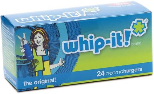 Whip-it! Cream Charger (Screw Valve) - 24ct Box
