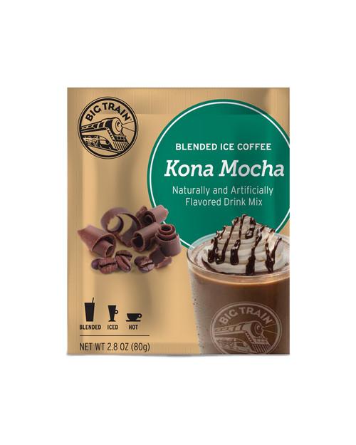 Big Train Blended Ice Coffee -  Single Serve Packet: Kona Mocha