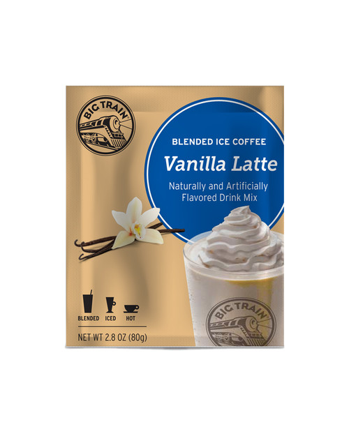 Big Train Blended Ice Coffee -  Single Serve Packet: Vanilla Latte