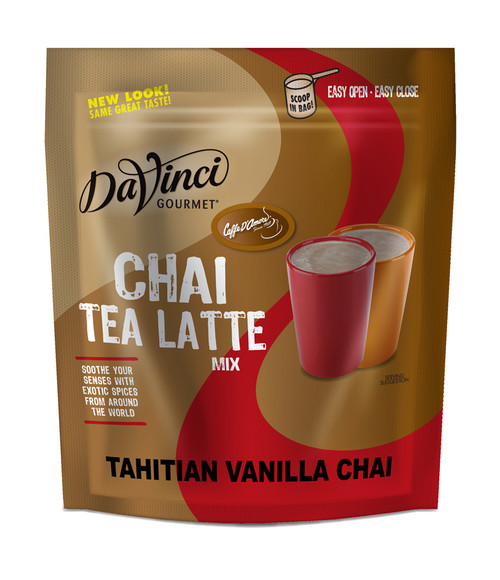 DaVinci Gourmet Chai Tea Latte - 3 lb. Bulk Bag: Tahitian Vanilla