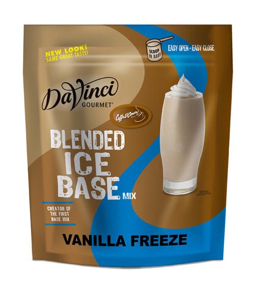 Davinci Gourmet Frappe Freeze (Coffee Free) - 3 lb. Bulk Bag: Vanilla Freeze - Base Mix