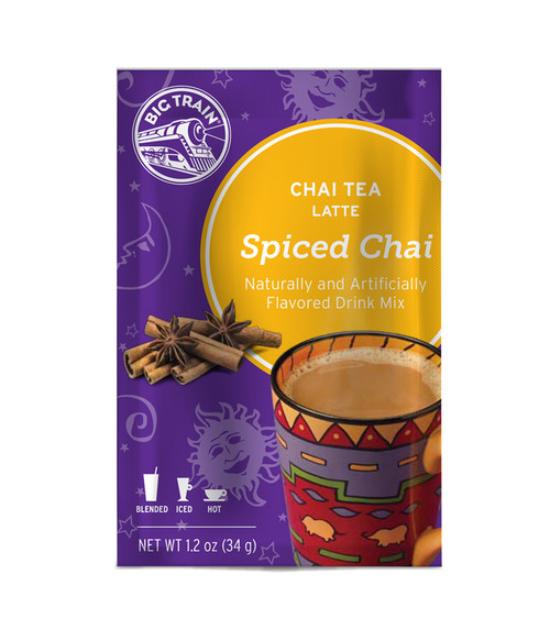 Big Train Chai Tea - Single Serve Packet: Spiced