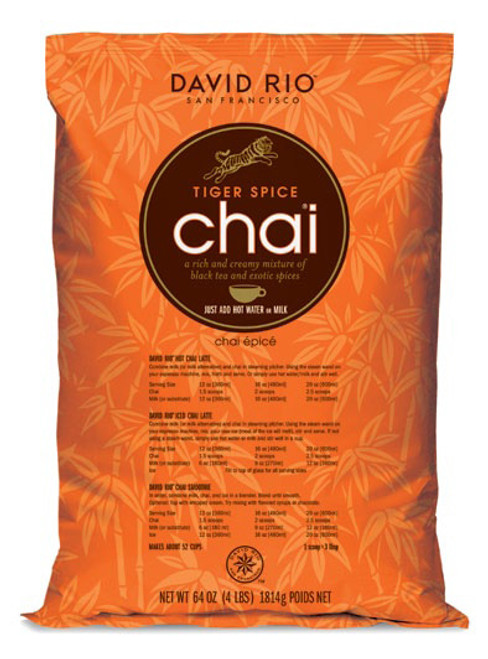 David Rio Chai (Endangered Species) - 4lb Bulk Bag: Tiger Spice
