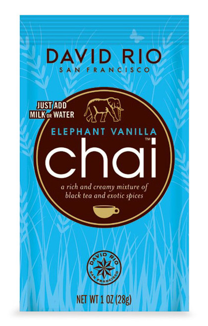 David Rio Chai (Endangered Species) - Single Serve: Elephant Vanilla