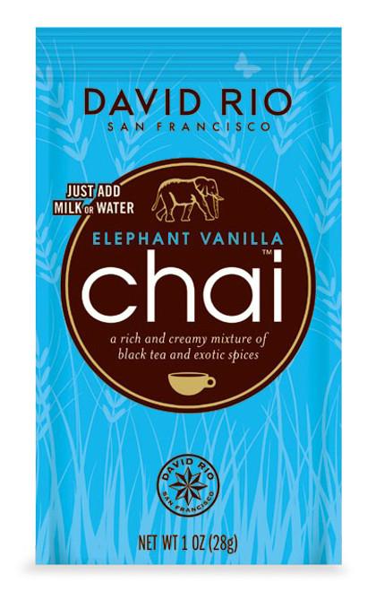 David Rio Chai (Endangered Species) - Single Serve: Elephant Vanilla