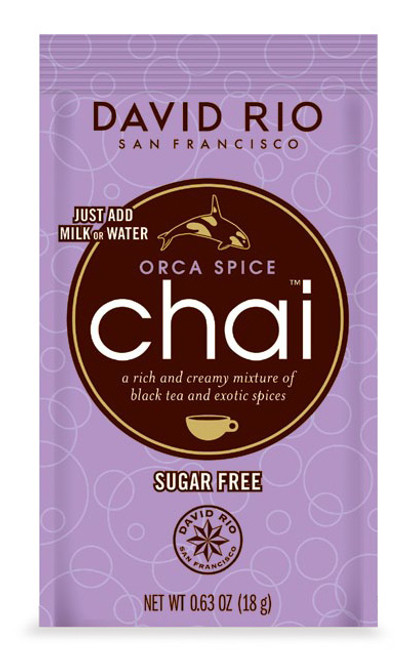 David Rio Chai (Endangered Species) - Single Serve: Orca Spice Sugar Free