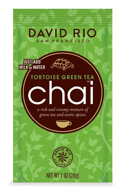 David Rio Chai (Endangered Species) - Single Serve: Tortoise Green Tea