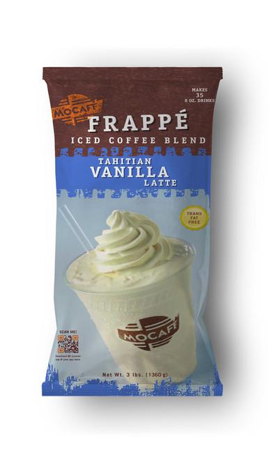 MoCafe - Blended Ice Frappes - 3 lb. Bulk Bag: Tahitian Vanilla Latte