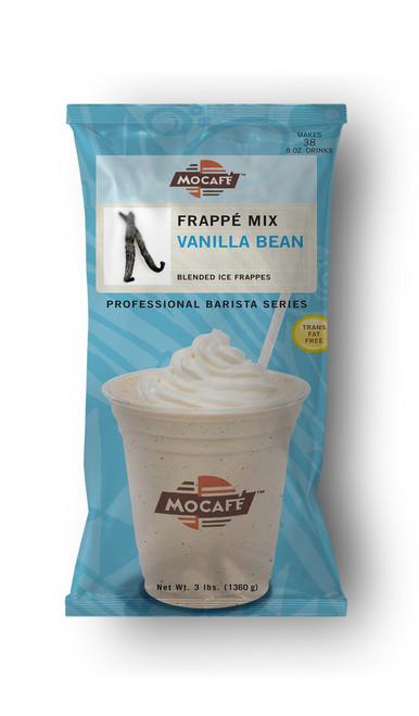MoCafe - Blended Ice Frappes - 3 lb. Bulk Bag: Vanilla Bean