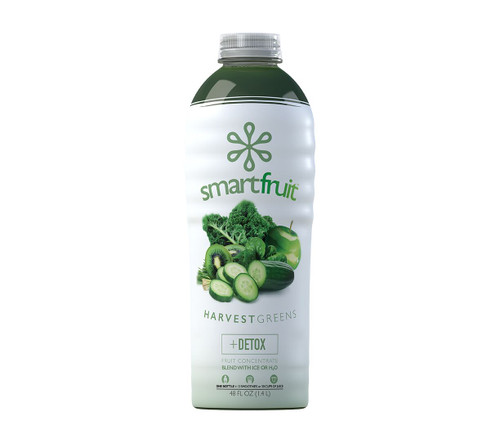 SmartFruit - 100% Real Fruit Puree: 48 fl. oz. Bottle: Harvest Greens
