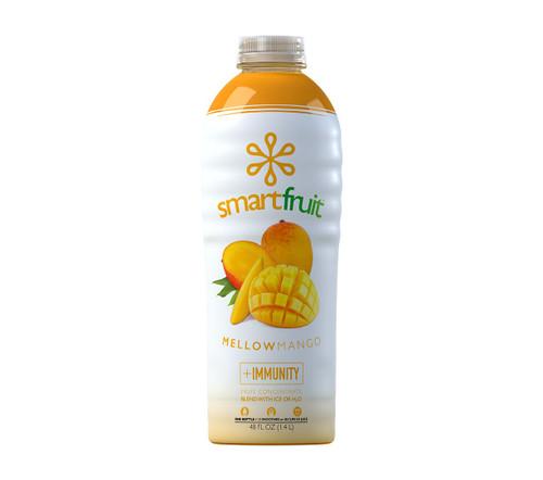 SmartFruit - 100% Real Fruit Puree: 48 fl. oz. Bottle: Mellow Mango