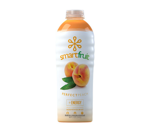 SmartFruit - 100% Real Fruit Puree: 48 fl. oz. Bottle: Perfect Peach