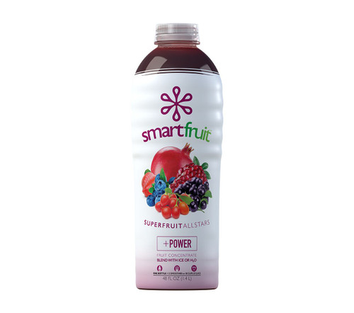 SmartFruit - 100% Real Fruit Puree: 48 fl. oz. Bottle: Superfruit All Stars