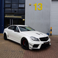 2013 W204 C63 Black Series Carbon Aero Kit Upgrade