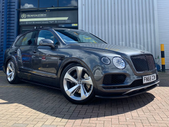 OEM Bentley Bentayga Mulliner Body Kit