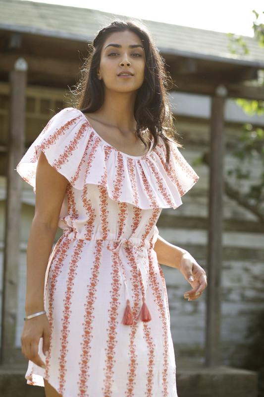 Ruby Dress | Floral Vine HAZEL MOON