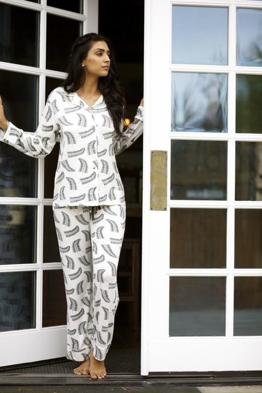 Gina Pajama Set | Fern HAZEL MOON