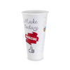 Versalite� Polypropylene (PP) Good Day Design Cups for Cold or Hot Drinks - Various Sizes � Case