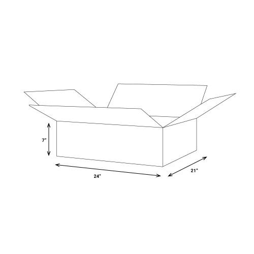 Corrugated boxes - 25 per bundle - Available as Add-on To LTL and FTL Shipments
