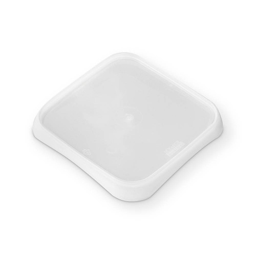 L5X5IMLCP - BPA Free Food Grade SelecTE™ Tamper Evident Square Lid - 828 count - case