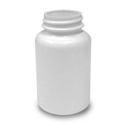 120cc Round Packer Bottle (B38PS120H) - White - 605 count - case
