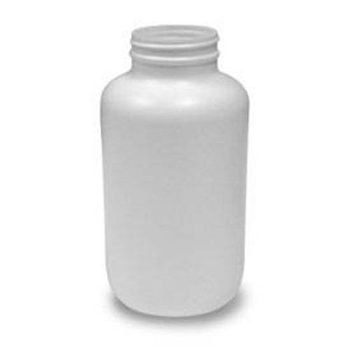 950cc Round Packer Bottle (B53PS950CH) - White - 99 count - case