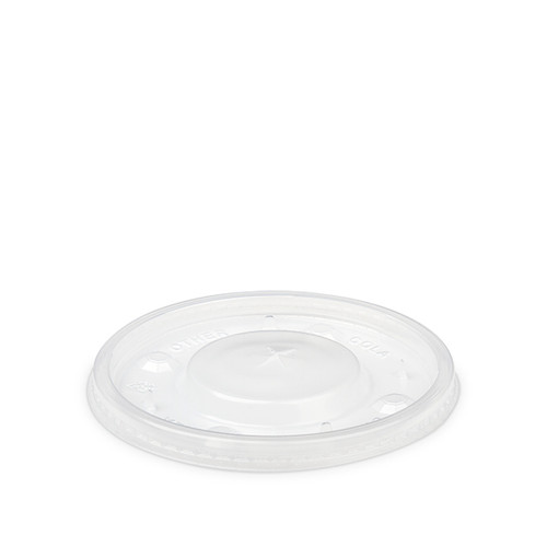 Clear Disposable Flat Lid - Straw Slot (DLT402SRCP) - 1770 count - Case