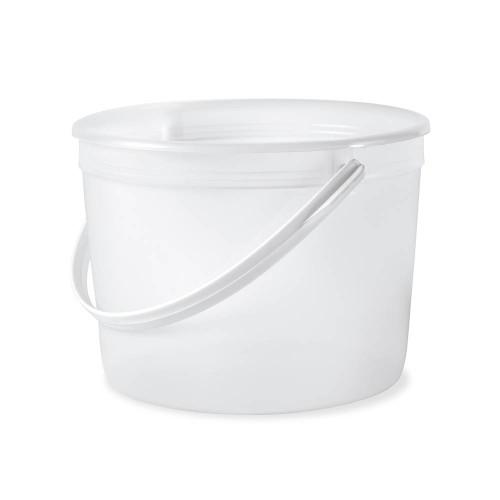 1/2 Gallon (64 oz.) BPA Free Food Grade Round Bucket (T60764B)- 200 count - case