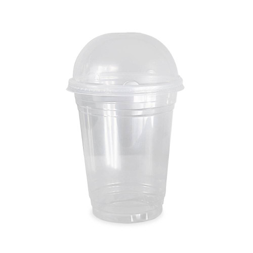 16 oz. BPA Free Food Grade Clarified Cup with Lid - starting quantity 100 pack