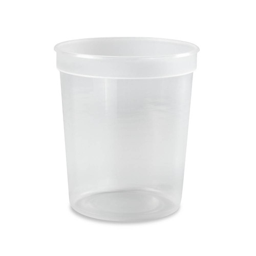 1/4 Gallon (32 oz.) BPA Free Food Grade Tall Round Container (T41032TCP) - 500 count - case