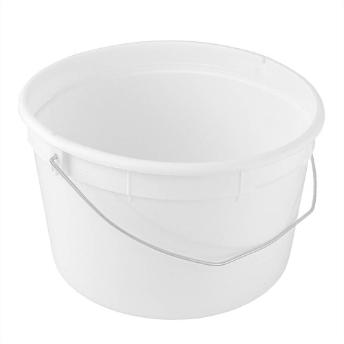 1 gal. BPA Free Food Grade Round Bucket with Wire  Handle (T809128W) - 120 count - case