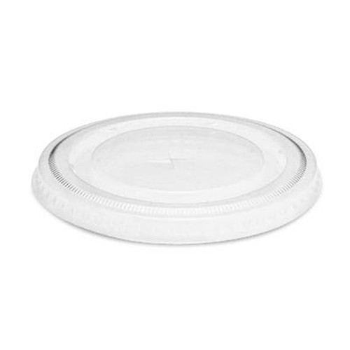 Clear Disposable Flat Lid - Straw Slot (DLT314SS) - 1000 count - Case