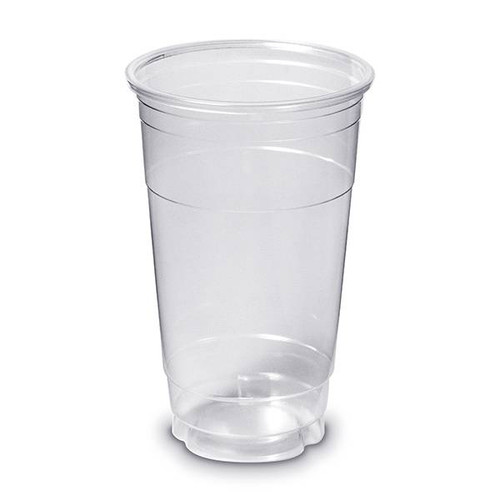 24 oz. BPA Free Clear Plastic Disposable Cup (ST31424CP) - 600 count - Case