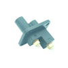 Connector CAT style jump start 2-pin receptacle base