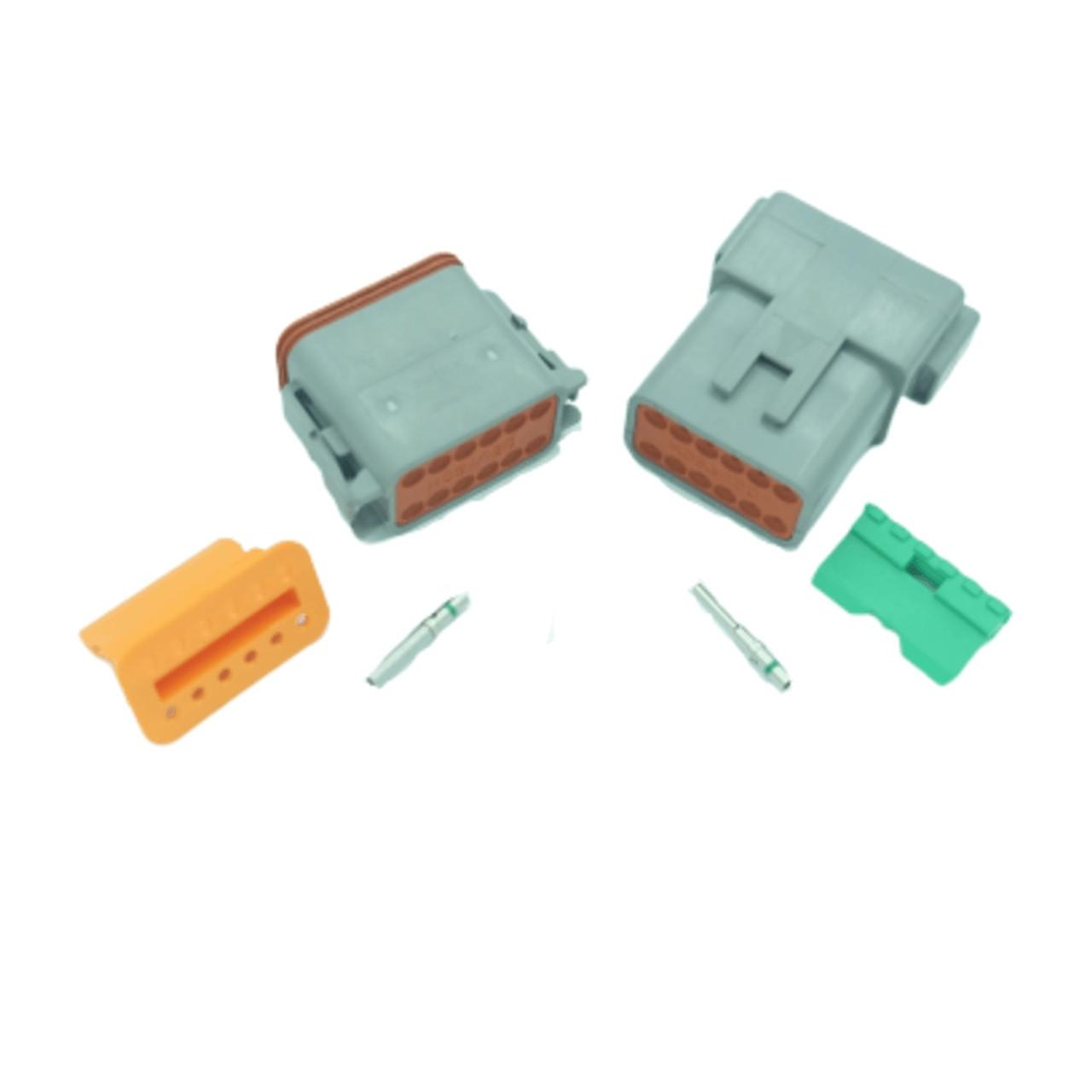 12 pin Deutsch connector set