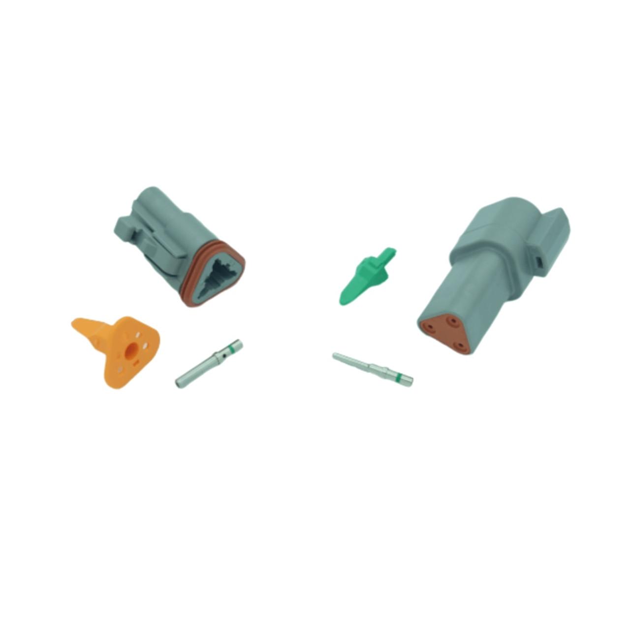 3 pin Deutsch connector set