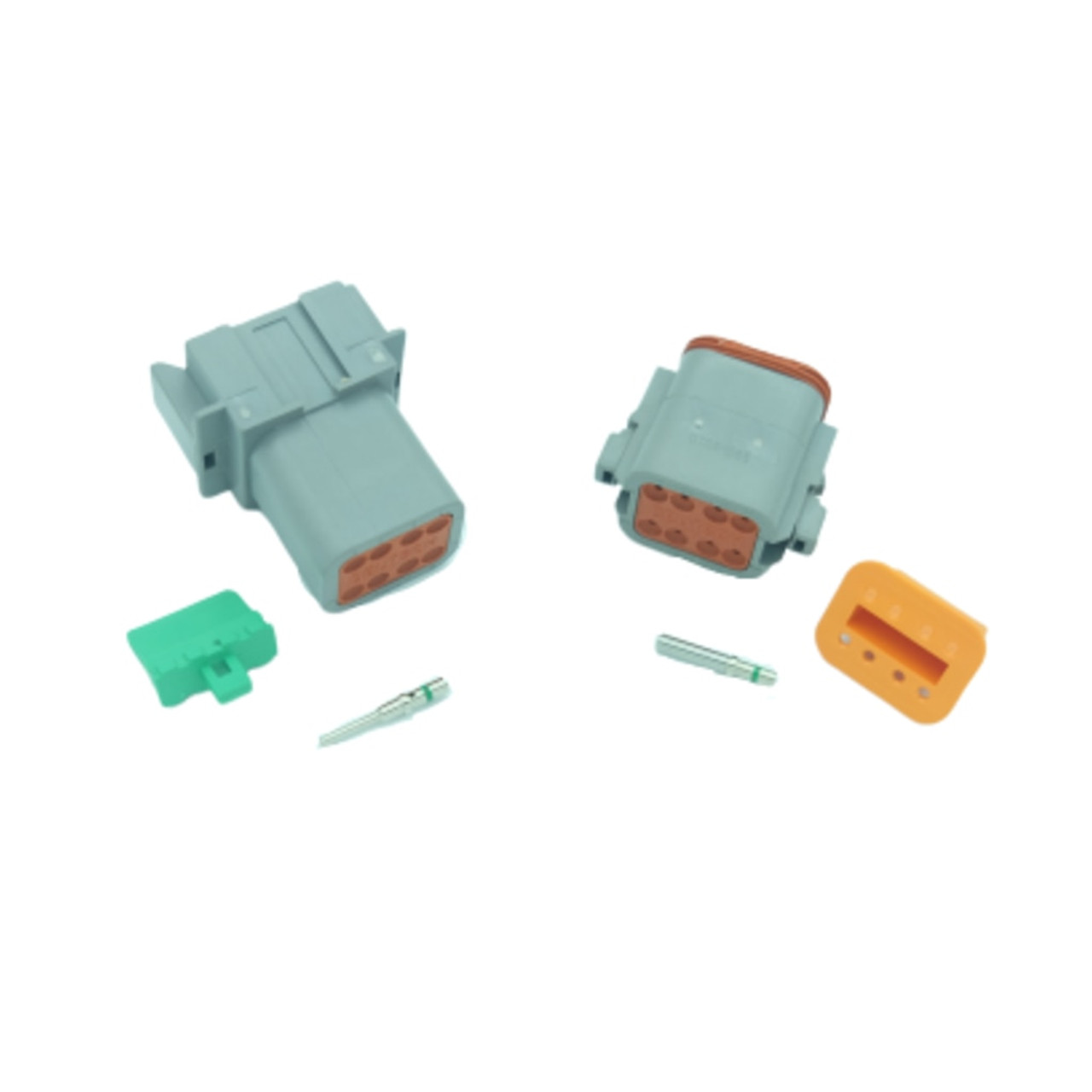 8 pin Deutsch connector set