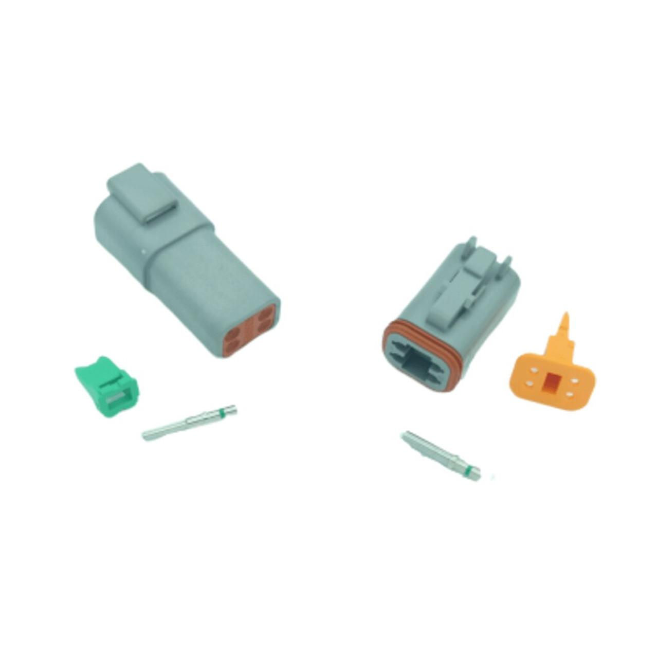 4 pin Deutsch connector set