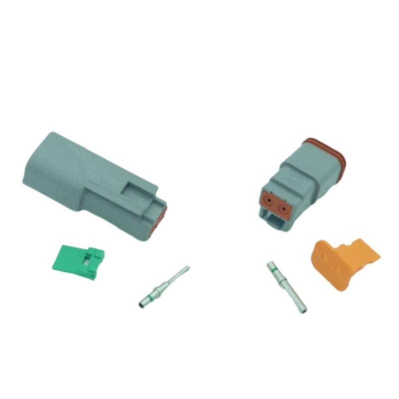 2 pin Deutsch connector set