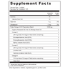 Supplement Facts Serving Size: 1 softgel; Servings Per Container: 120 Ingredients: Calories 10, Calories from Fat 10, Total Fat 1 g, Cholesterol 5 mg, Triple Omega 3.6.9 Proprietary Blend 1200 mg, Organic Flaxseed Oil, Fish Oil, Borage Seed Oil, Omega-3: 288 mg total of Omega-3 Fatty Acids comprising: Eicosapentaenoic Acid (EPA), Docosahexaenoic Acid (DHA), Alpha Linolenic Acid (ALA)Omega-6: 258 mg total of Omega-6 Fatty Acids comprising:Linolenic Acid, Gamma Linolenic Acid (GLA). Omega-9: 114 mg total of Omega-9 Fatty Acids comprising: Oleic Acid. Other Ingredients: Gelatin, vegetable glycerin, purified water.
