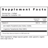 Supplement Facts Serving Size: 1 softgel; Servings Per Container: 120 Ingredients: Vitamin E (as d-alpha tocopherol plus d-beta, d-gamma, d-delta tocopherols) 400 IU.