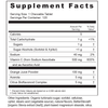 Supplement Facts  Serving Size: 1 chewable tablet; Servings Per Container: 120 Ingredients: Calories 5, Total Carbohydrates 2 g, Sugars 1 g, Vitamin C (as sodium ascorbate and ascorbic acid) 500 mg, Sodium 50 mg, Rose Hips 8 mg. Other Ingredients: Sugar, sorbitol, vegetable stearic acid. Contains less than 2% of: natural orange flavor, silica, plant-based magnesium stearate.