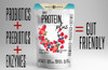 Gut Friendly Nutrients  Probiotic Blend to help soothe digestion, boost the immune system, and keep your gut healthy.  Enzyme Blend aids your body in fully digesting the proteins, fats, and amino acids contained in whey protein, allowing for maximum absorption of nutrients.  FOS is a prebiotic and a great source of fiber that provides nutrition to keep probiotics alive longer, so you get the maximum benefit!  L-Glutamine is a naturally occurring amino acid in the body and is necessary for immune health, muscle building, exercise recovery and intestinal health.   Naturally sweet with no added sugar!