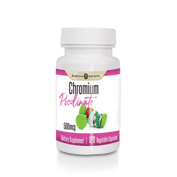 Chromium supports the efficient use of sugar, and is essential for the proper metabolism of protein, fats, and carbohydrates. Use as part of your diet to help maintain already healthy blood sugar levels.*