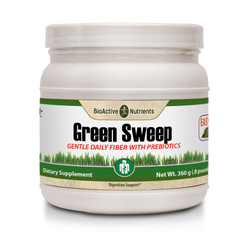 This fiber blend is expertly formulated with Slippery Elm, Wheatgrass Powder, and Prebiotic nutrients to support: Regularity*, Intestinal flora balance*, Natural Digestive Aid*, Detoxification*.