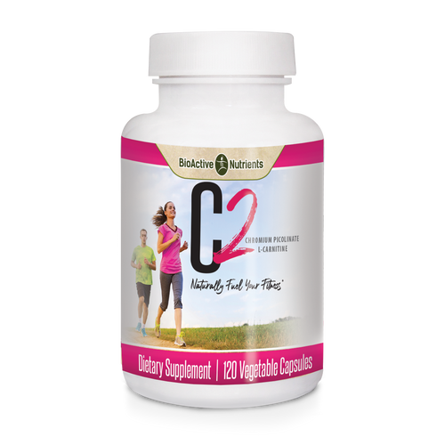 C2 is a unique blend of two nutrients that support the metabolism of fat.  L-Carnitine supports the transport of fat to the mitochondria where it can be burned to produce energy.*  Chromium Picolinate supports healthy blood sugar and supports the proper metabolism of protein, fats, and carbohydrates.*