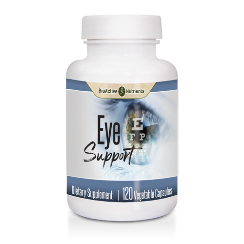 Our Eye Support formula is a comprehensive blend of nutrients necessary to maintain optimal eye health.  Lutein, Billberry, Astaxanthin, and other essential ingredients work together to support Eye Health and Healthy Vision.*