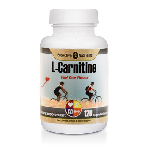 Gluten-free | Animal-free | Yeast-free L-Carnitine is an amino acid that assists in the breakdown of fat to produce energy. It plays an essential role in the transport of fatty acids to muscle tissue and supports: Healthy Weight Management*, Heart & Muscle Health*, Healthy Energy Production*